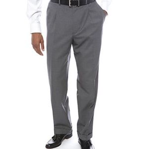 NWT Grey Ralph Lauren pleated dress pants